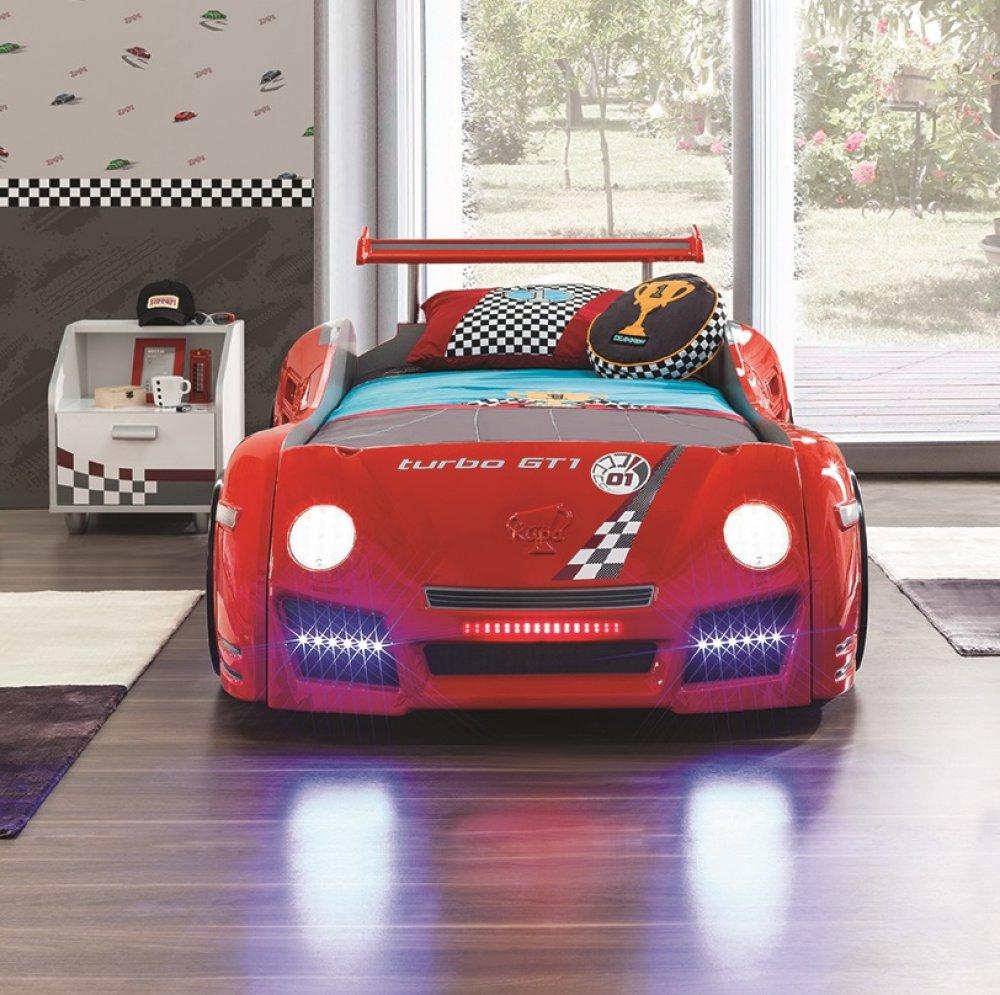 küchenarbeitsplatte rot autobett twister in rot f r alle sportwagen fans highlight