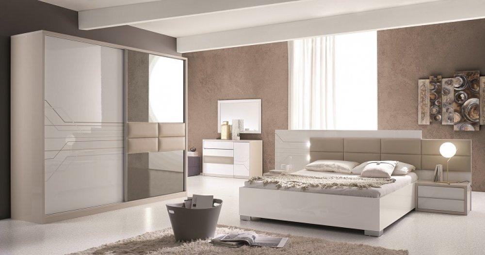 Schlafzimmer Modern Weiß Braun | https://travelshq.com