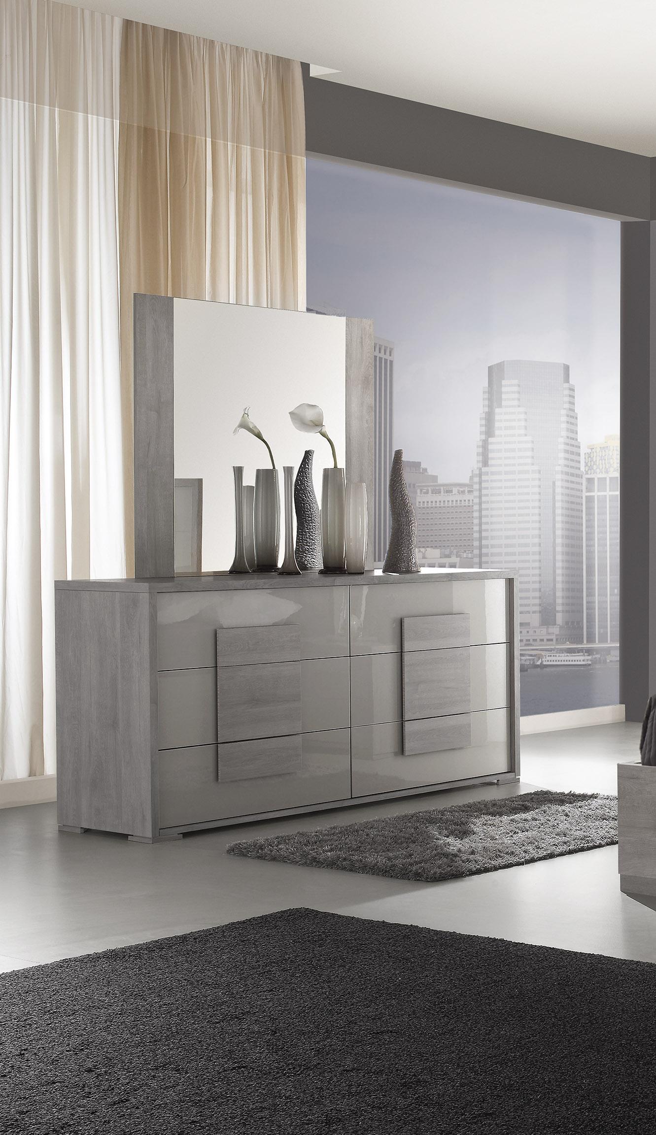 Elegantes Schlafzimmer LINA in weiß modern