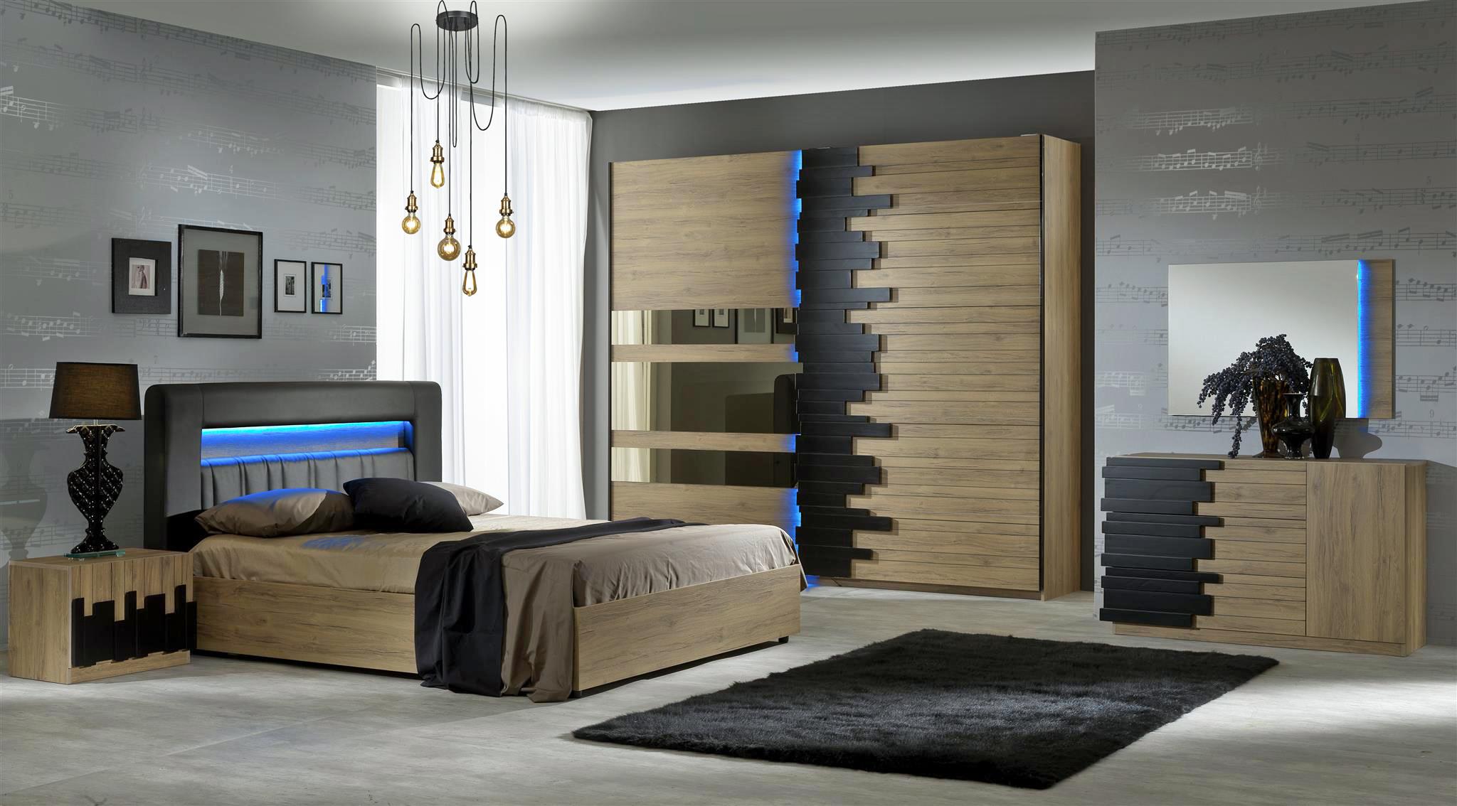 Elegantes Schlafzimmer PIANO modern