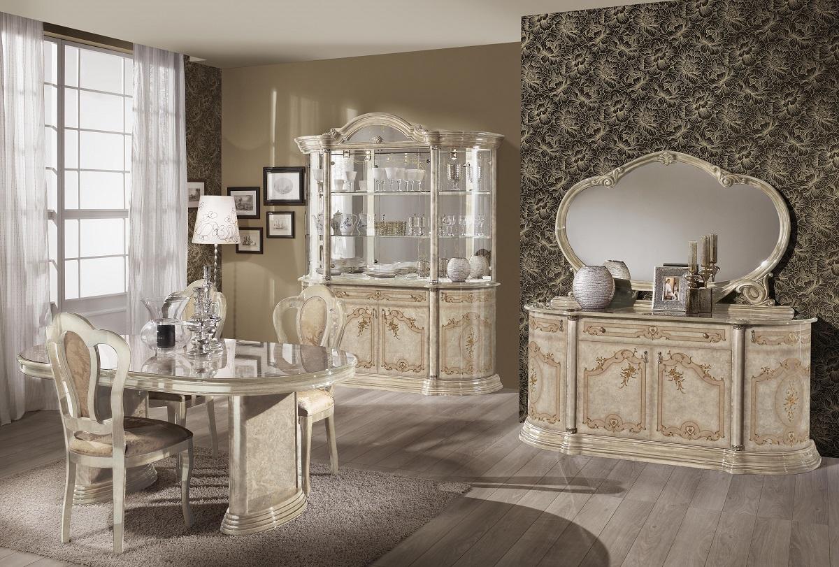Italienische Barockmobel Sicher Und Schnell Online Gunstig Kaufen Zum Online Shop Klassisches Esszimmer Ravenna Beige Italien Barock
